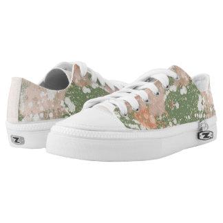 Paint Splatter Effect Patterned Canvas Shoes