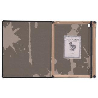 Paint Splatter grey iPad Folio Case
