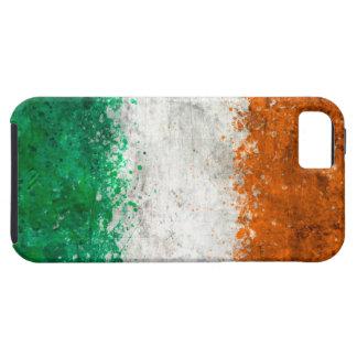 Paint Splatter Irish Flag iPhone 5 Cases