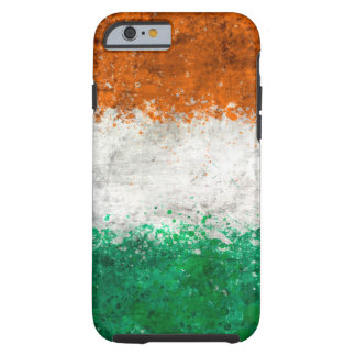 Paint Splatter Irish Flag Tough iPhone 6 Case