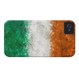 Paint Splatter Irish Flag iPhone 4 Case
