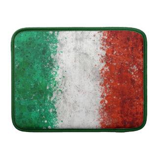 Paint Splatter Italian Flag MacBook Air Sleeve
