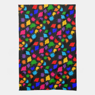 Paint Splatter Kitchen Towel