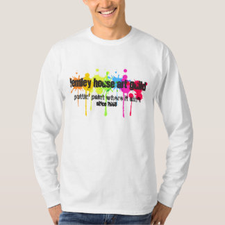 Paint Splatter Lemley House Art Guild Shirt