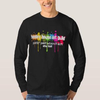 Paint Splatter Lemley House Art Guild Shirt Dark