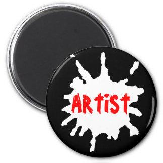 Paint Splatter Magnets