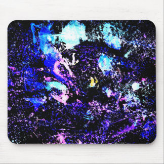 Paint Splatter Mouse Pad