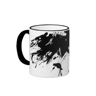 Paint Splatter Ringer Coffee Mug