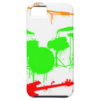 Paint Splatter Musical instruments Band Graffiti iPhone SE/5/5s Case