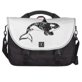 Paint Splatter Orca Art Bag For Laptop