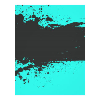 Paint Splatter Party Flyer