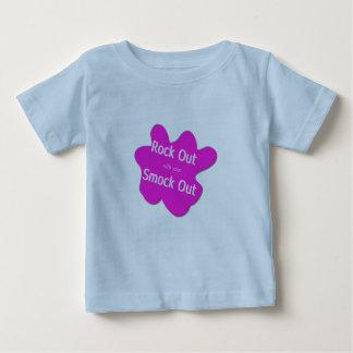 Paint Splatter Rock Out T-Shirt