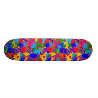 Paint Splatter Skateboard Decks