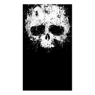Paint Splatter Skull Double-Sided Standard Business Cards (Pack Of 100)