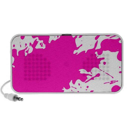 Paint Splatter iPod Speakers