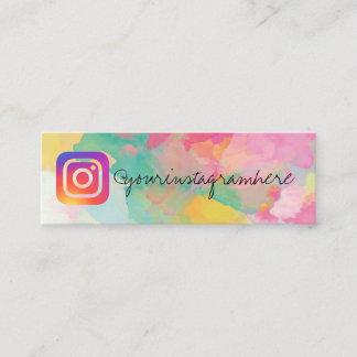paint splatter splash social media business card