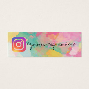 Social media business cards templates zazzle paint splatter splash social media business card accmission Images