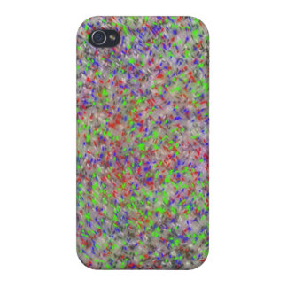 Paint splatter spots iphone case
