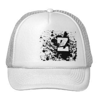 paint splatter, Z Trucker Hat