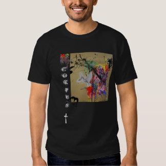 Paint splattered Corpus T Shirt