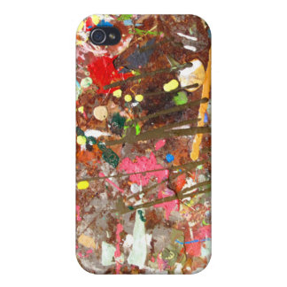 Paint Splattered!! iPhone case iPhone 4 Case