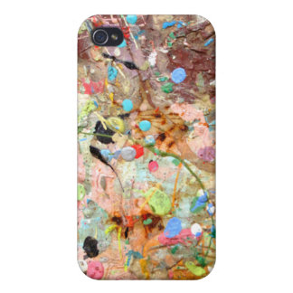 Paint Splattered!! iPhone case iPhone 4 Cases