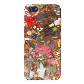 Paint Splattered!! iPhone case iPhone 5 Cases