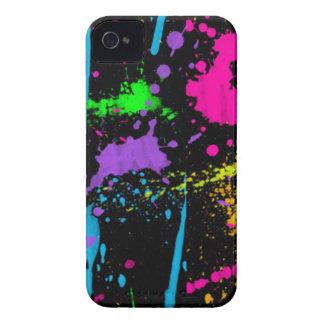 Paint Splatters Blackberry Bold Case