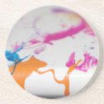 Paint Splatters Coaster