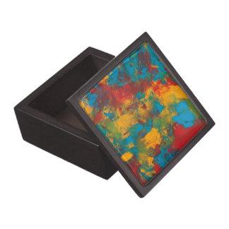 Paint Splatters Gift Box Premium Jewelry Box