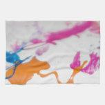 Paint Splatters Hand Towels