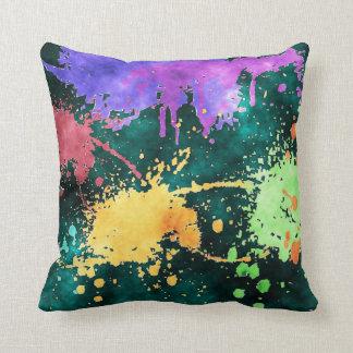 PAINT SPLATTERS Pillow