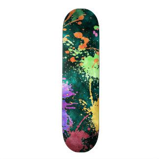 PAINT SPLATTERS Skateboard