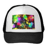 Paint splatters trucker hat