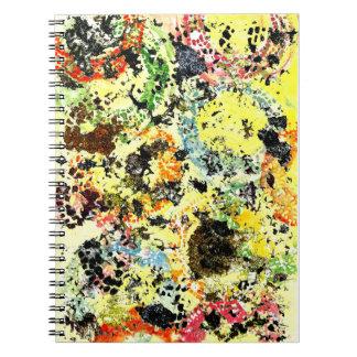 Paint Spots Notebook