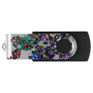Paint Spots USB Flash Drive