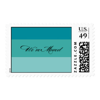 paint swatch postage stamp