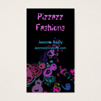 Paint Swirls Color Business Card