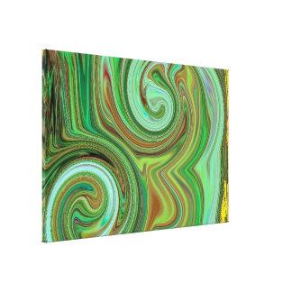 paint swirly mf gallery wrapped canvas