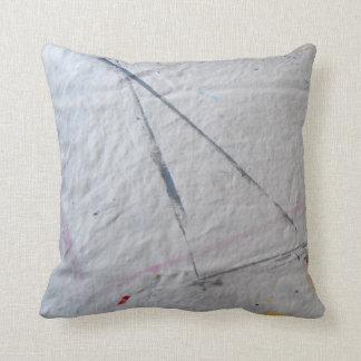 Paint Tarp One Throw Pillow