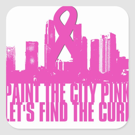 Paint the City Pink Sticker