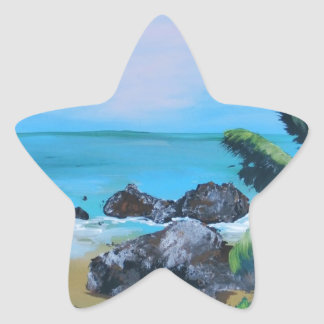 paint the day star sticker