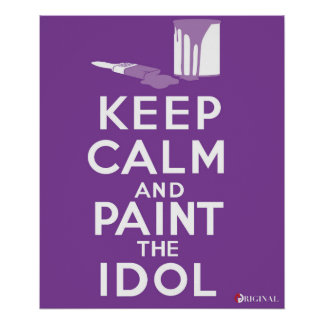 Paint the Idol (Union College Tradition) Poster