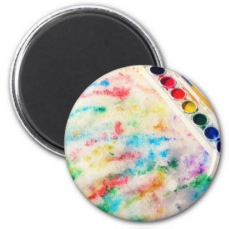 paint the snow magnet