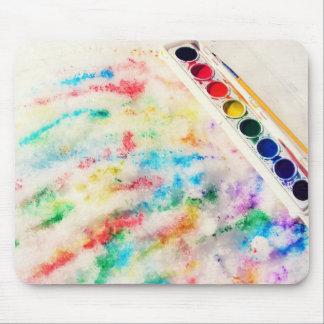 paint the snow mousepad