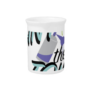 Paint The Town Beverage Pitchers