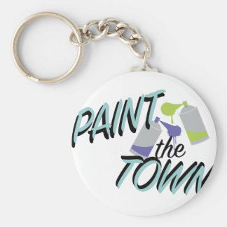 Paint The Town Keychain