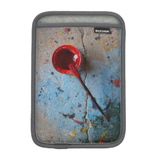 Paint the Town Red iPad Mini Sleeve