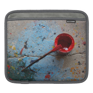 Paint the Town Red iPad Sleeve