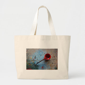 Paint the Town Red Large Tote Bag